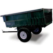 Rubbermaid® 5663-61 Nursery & Lawn Tractor Cart Trailer 15 Cu. Ft. Capacity