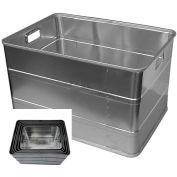 """Vestil ALC-20 Rugged Aluminum Storage Container, 20""""Lx14""""Wx14""""H"""