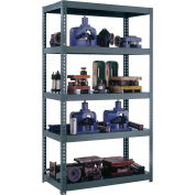 "High Capacity Boltless Shelving 96""W x 36""D x 84""H, 2600 lbs. Capacity"