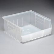 Quantum Ultra Stack and Hang Bin QUS235CL 11 x 10-7/8 x 5 Clear - Pkg Qty 6