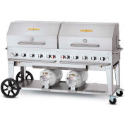 "Crown Verity 72"" Club Grill LP - CV-CCB-72 PKG"