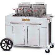 Crown Verity Portable Fryer - Double