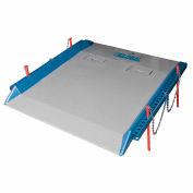 Bluff® 20C7272 Steel Red Pin Heavy Duty Dock Board 72 x 72 20,000 Lb. Cap.