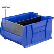Akro-Mils Window 21289 For 30289 Stacking Bin, Price Per Pkg of 1