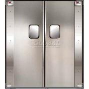 TMI Service-Pro™ Double Restaurant Swinging Door 6 x 7 Aluminum 300-00305
