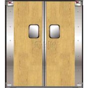 TMI Double Restaurant Swinging Door 6 x 7 Wood Laminate 300-00311