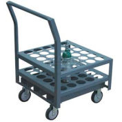 "Jamco Oxygen & Medical Cylinder Cart KK030 30 Type M4, M6, B Tanks 5"" Thermorubber Casters"