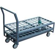 "Jamco Oxygen & Medical Cylinder Cart KL060 60 Type M4, M6, B Tanks 5"" Polyurethane Casters"
