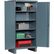 """Durham Heavy Duty Storage Cabinet HDC-243678-4S95 - 12 Gauge 35""""W x 24""""D x 78""""H"""