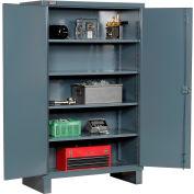 """Durham Heavy Duty Storage Cabinet HDC-244878-4S95 - 12 Gauge 48""""W x 24""""D x 78""""H"""