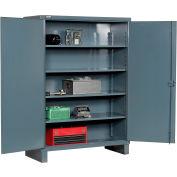 """Durham Heavy Duty Storage Cabinet HDC-246078-4S95 - 12 Gauge 60""""W x 24""""D x 78""""H"""