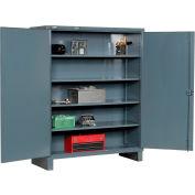 """Durham Heavy Duty Storage Cabinet HDC-247278-4S95 - 12 Gauge 72""""W x 24""""D x 78""""H"""