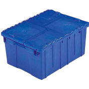 ORBIS Flipak® Distribution Container FP143  - 21-7/8 x 15-3/16 x 9-15/16 Blue - Pkg Qty 6