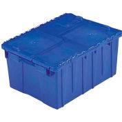 ORBIS Flipak® Distribution Container FP075 - 19-11/16 x 11-13/16 x 7-5/16 Blue - Pkg Qty 6