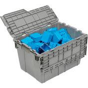 ORBIS Flipak® Distribution Container FP182  - 21-13/16 x 15-3/16 x 12-7/8 Gray - Pkg Qty 6
