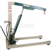 Beech Engineering Premium Hydraulic Floor Crane B-2000 2000 Lb. Capacity