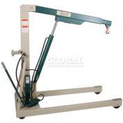 Beech Engineering Premium Hydraulic Floor Crane 3000 Lb. Capacity