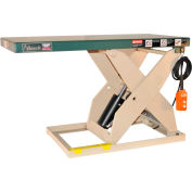 Beech® LoadRedi Light Duty Scissor Lift Table RL36-10-2W 48-5/8 x 24 1000 Lb. Capacity