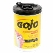 GOJO Scrubbing Wipes 72 Count Canister - 6 Canisters/Case 6396-06