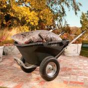 Lifetime® 65034 Plastic Lawn & Garden Nursery Wheelbarrow 550 Lb. Capacity