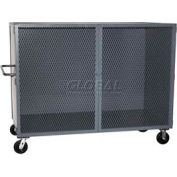 Jamco Mesh Door Security Truck VG472 72 x 38 1 Fixed Lower Shelf 2000 Lb. Cap.