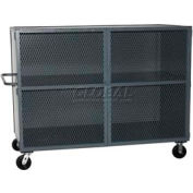 Jamco Mesh Door Security Truck VH260 60 x 26 2 Fixed Shelves 3000 Lb. Cap.