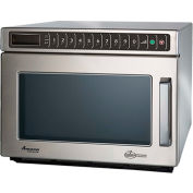 Amana® HDC212, Commercial Microwave, 0.6 Cu. Ft., 2100 Watt, Keypad
