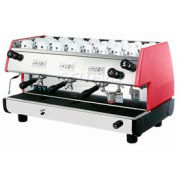 La Pavoni BAR T Series Commercial Espresso Machine - Red 3 Group