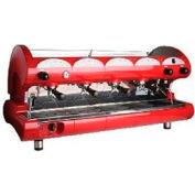 La Pavoni BAR STAR Series Commercial Espresso Machine - Red 4 Group