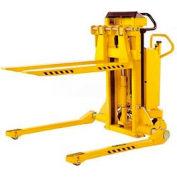 Southworth PalletPal® Mobile Leveler Stacker 2200 Lbs. Adj. Forks 51 ID Legs - PMLS-22-35-ME