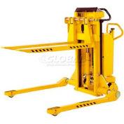 Southworth PalletPal Mobile Leveler Stacker 3000 Lb. Cap. Adj. Forks 44 ID Legs - PMLS-30-35-ME
