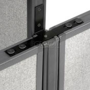 """Interion® Low-High Three Way Kit For Two 64"""" Low Panel"""