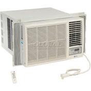 LG Window Air Conditioner with Remote Control LW1816HR, 18,000 BTU Cool 12,000 BTU Heat  230/208V