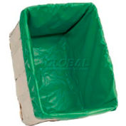 HG Maybeck Hamper Basket Liner, 10 Oz. Vinyl, 6 Bushel, Green
