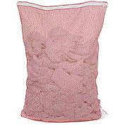 Mesh Bag W/ Nylon Zipper Closure, Red, 30x40, Heavy Weight - Pkg Qty 12