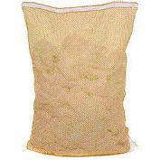 Mesh Bag W/ Nylon Zipper Closure, Orange, 30x40, Heavy Weight - Pkg Qty 12
