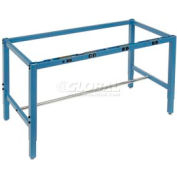 "72""W x 30""D Workbench Frame w/ Electric-Blue"