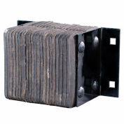 """Durable Extra-Thick Laminated Dock Bumper B910-14 16""""W x 9""""D x 10""""H"""