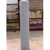 "Cinco Decorative Bollard Cover Fit Pipe 10"" -11"" Gray"
