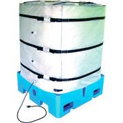 """BriskHeat® 36""""H Wrap-Around Tote Tank Heater For 250 Gallon Tote Tank, 50-160°F, 240V"""