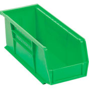 "Akro-Mils AkroBin® Plastic Stacking Bin 30224 - 4-1/8""W x 10-7/8""D x 4""H, Green - Pkg Qty 12"