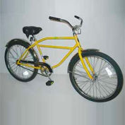 "Industrial Bicycle 300 lb Capacity 17-1/2"" Frame Men Yellow"