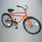 "Industrial Bicycle 300 lb Capacity 17-1/2"" Frame Men Orange"