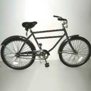 "Heavy Duty Industrial Bicycle 300 lb Capacity 20"" Frame Men Black"