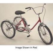 Executive Med-Duty Tricycle 275Lb Cap. 3Speed Coaster Brake w/Rear Basket Orange