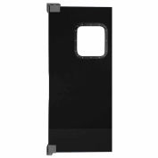 Chase Doors Light to Medium Duty Service Door Single Panel Black 3' x 7' 3684NWS-BK