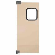 "Chase Doors Light to Medium Duty Service Door Single Panel Beige 3'6"" x 7' 4284NWS-BG"