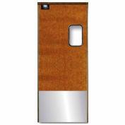 Chase Doors Medium Duty Service Door Single Panel Maple 3' x 7' with Kickplate 3684SC