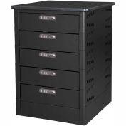 Datum TekStak Laptop Storage Locker 5 Tier Electronic Lock Laminate Top, Series TEKS5-C
