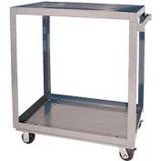 Vestil Aluminum Two Shelf Service Cart SCA2-2848 48 x 28 660 Lb. Capacity